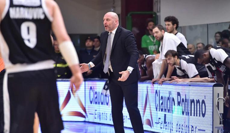 La Virtus cade a Sassari per 91 a 77. Le parole di Coach Djordjevic nel post partita