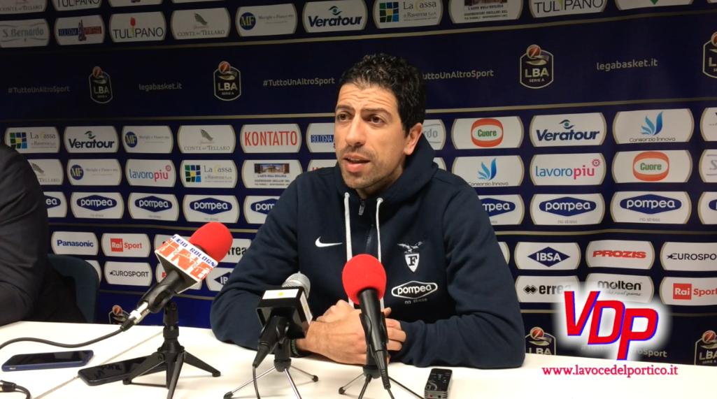 """Treviso – Fortitudo, Martino:""""partita da affrontare con regolarità e senza pause, in un ambiente caldo"""""""