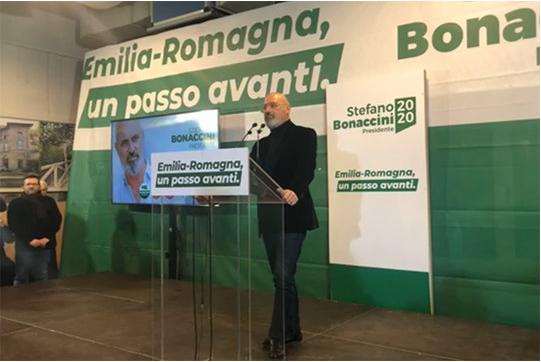 Bonaccini resiste alla Lega: riconfermato Presidente della Regione Emilia Romagna