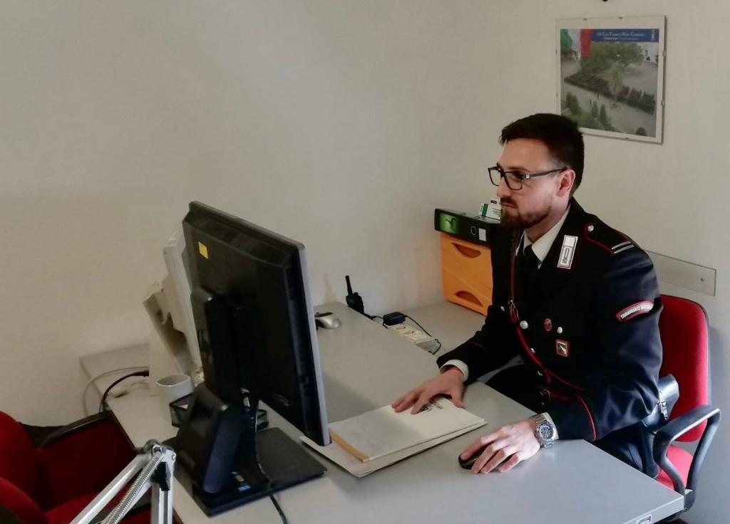 La convalida dell'arresto in videoconferenza: a Monghidoro attivata la procedura del processo a distanza con il Trbunale di Bologna