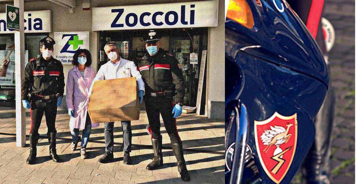 I Carabinieri recuperano e consegnano 2.500 mascherine chirurgiche destinate ad una farmacia di Crevalcore