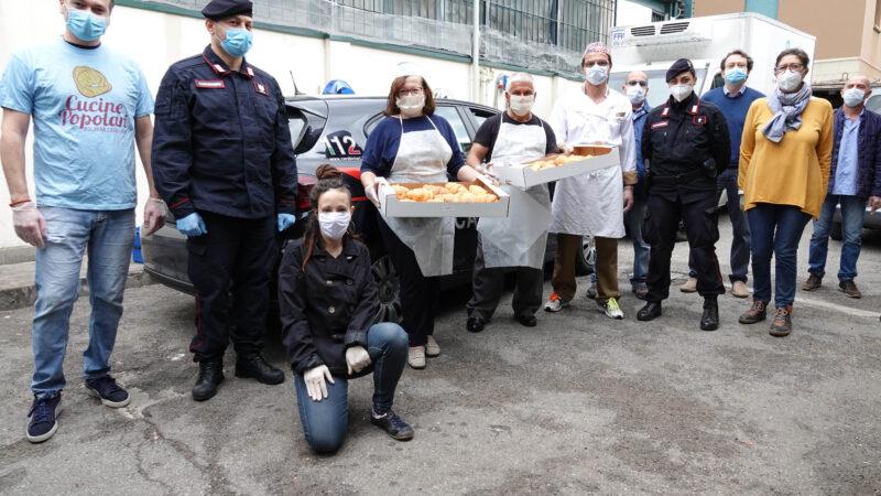 """""""Pastry Lab – Andrea Tedeschi Pasticcere"""", 300 brioche per i più bisognosi: a consegnarle i Carabinieri di Monzuno e Bologna"""