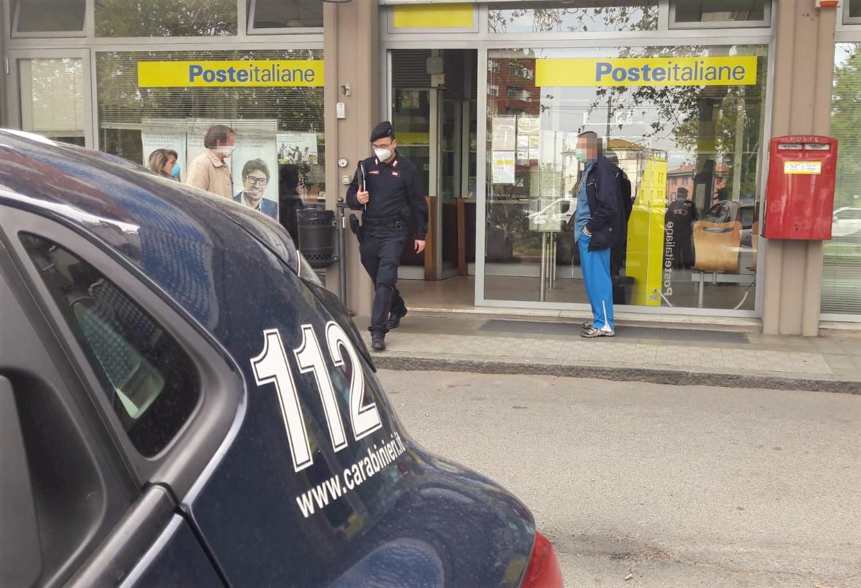 Carabinieri e Poste Italiane insieme per consegnare la pensione agli anziani