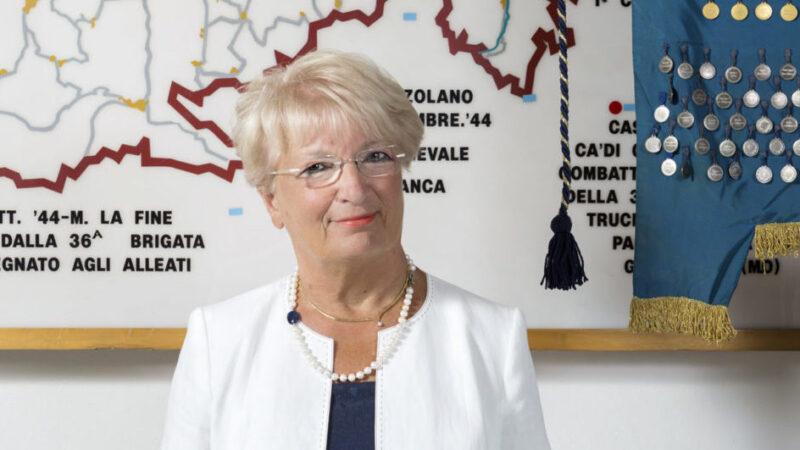 La città di Bologna celebra il 75° anniversario della Liberazione. L'intervento della presidente dell'Anpi di Bologna Anna Cocchi