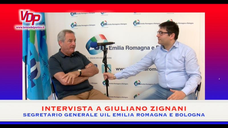 Sicurezza, lavoro e futuro: l'intervista al Segretario Generale Uil E-R e Bologna Giuliano Zignani