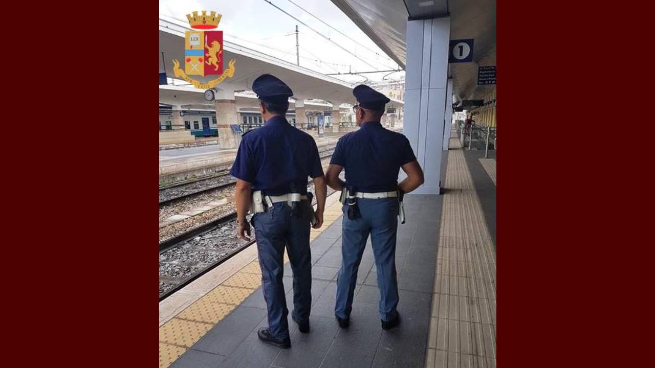 Molestie sessuali e detenzione ai fini di spaccio: il report della Polizia nelle stazioni ferroviarie regionali