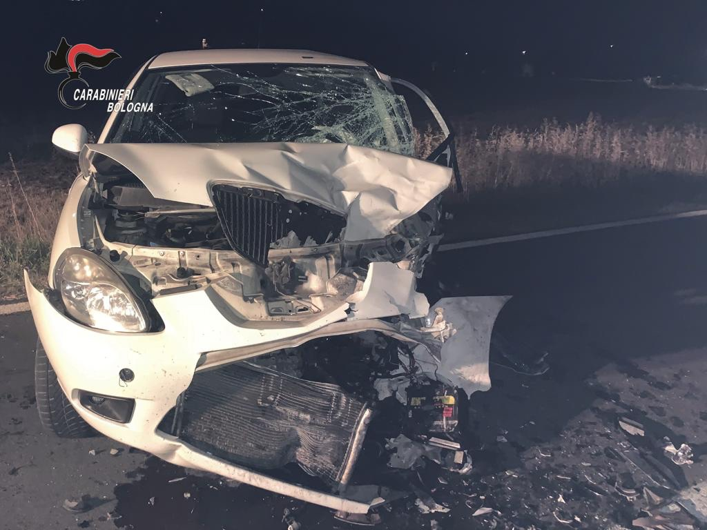Incidente stradale a San Lazzaro: 58enne trasportato d'urgenza in ospedale e ricoverato in Rianimazione