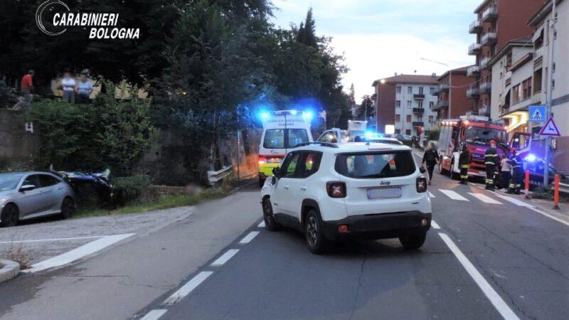 Incidente stradale ieri a Pianoro: un giovane motociclista trasportato d'urgenza in ospedale