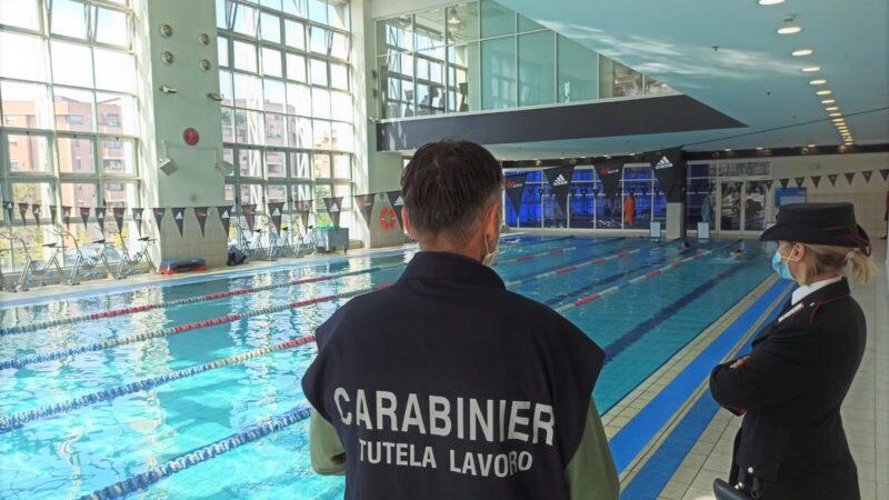 Controlli in piscine e palestre nel bolognese : nessuna irregolarità riscontrata dai Carabinieri