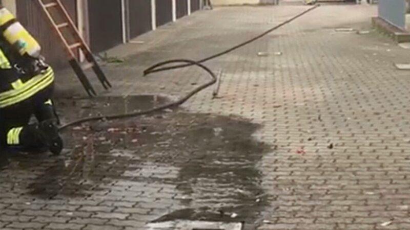 Imola, incendio in un condominio: intervengono i Vigili del Fuoco